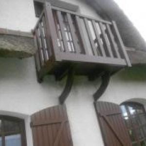 Menuiserie balcon